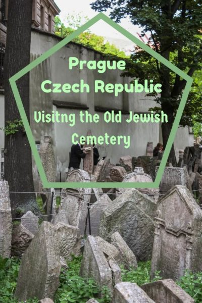 The largest Jewish cemetery in Europe is also the Old Jewish Cemetery in Prague. It is a must see when visiting the Czech Republic. #travel #prague #jewishquarter #jewishcemetery #cemetery