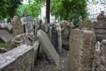 The Old Jewish Cemetery in Prague, Czech Republic