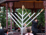 Hanukkah in the Park in Auckland, New Zealand