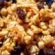 An apple, raisin, walnut and honey charoset recipe