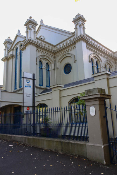 Moorish architecture of the Old Synagogue Auckland New Zealand