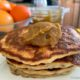 gluten and Dairy Free Pancakes with kaya