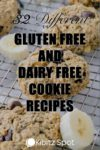 Image of gluten and dairy free chocolate peanut butter banana cookies