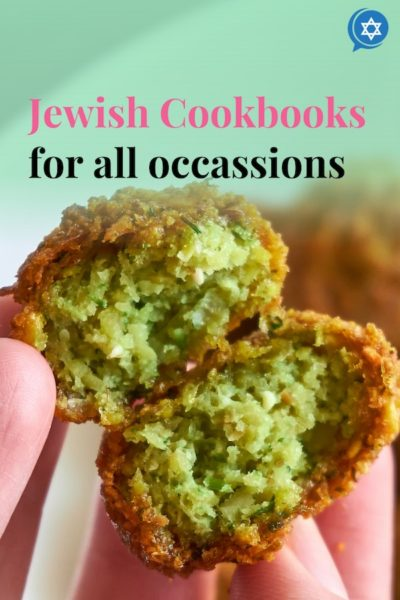 Falafel made from Jewish Cookbooks