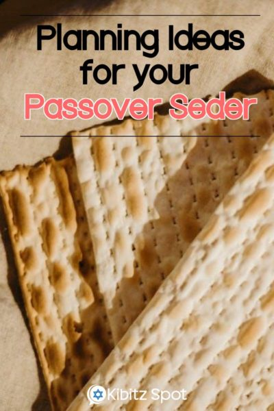 Planning a Small Family Seder