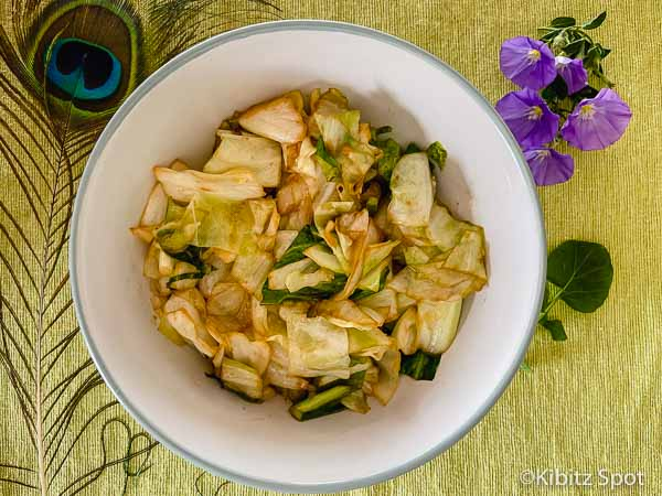 Our Vegan Cabbage Stir Fry
