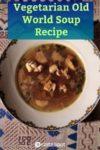 Vegetarian Old World Soup - Petcha
