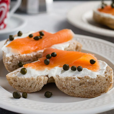 Bagel is on one of the many recipes on kibitz spot