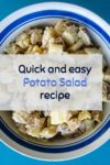Gluten and Dairy-free Potato Salad in a bowl