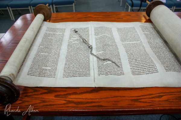 Torah and yad are traditional judaica
