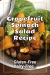 Grapefruit Spinach Salad