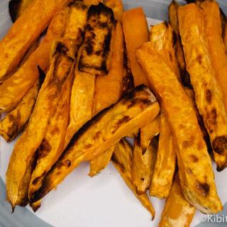 Paleo sweet potato chips ready to eat